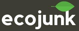 eco junk removal logo